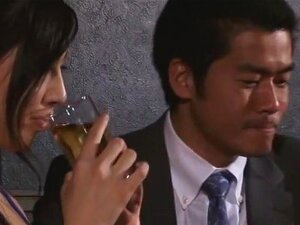 Beloved Hostess, Saori Hara plays a cabaret nightclub hostess girl in this video where she is a favorite amongst many customers who bang her right at the club lounge sitting area as well as being taken out by customers. Very sexy indeed.