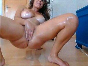 Milf masturbation, big tits- watch part 2 on milfwebcamonline com
