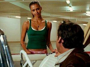 Jessica Alba - ตูดเซ็กซี่ในชุดชั้นใน