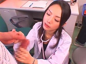 Erotic Doctor. There's no doubt Rei Matsushita is beautiful, but if looking like a cold hearted bitch turns you on, you ought to check out Rei. In this Doctor cosplay video, she plays a physician who automatically sucks on dicks during medical examinations and rides bedridden patients. Throughout the video, we believe she only smiled once. Nevertheless, she's cold, but we'd fuck her too since she's eye candy.