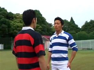 Ikuze 06. Here is a film - is not to be missed. Japanese guys do gay sex. Rubber toys covered with a wet lubricant and are fully asses guys. Swimming in the pool and sex on the football field is something than writing words brush that sticks out of the ANUS. See all!