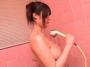 Hottest Japanese chick Rie Tachikawa in Incredible Big Tits, Masturbation JAV scene