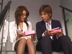 ดอกทองญี่ปุ่นเชื่อมิ Konno ในเลสเบี้ยนหนัง JAV สำเร็จความใคร่ เลขานุการ