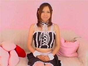 Fabulous Japanese whore Yura Aikawa in Exotic Maid, Masturbation JAV video