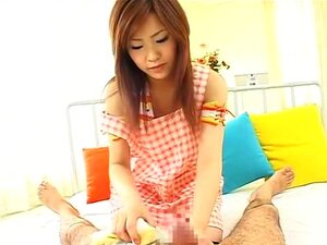 Virtual Kindergarten. Big breast actress Momo Fujimoto runs a kindergarten for guys who want to be treated like toddlers. If you like seeing big natural breasts that pretty much fly everywhere during sex or a girl who has large enough breasts to give a tit-job, Momo is the girl for you.