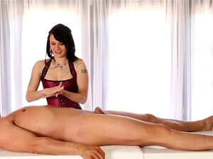 Sex therapist in lingerie. Sex therapist in lingerie sucks and tugs thru gloryhole
