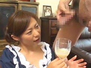 สาวญี่ปุ่นดื่มกลืน bukkake cumpilation
