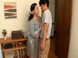 Japanese mother in law with huge tits suck best. Sex in Japan goes wild with Japanese MILF 32