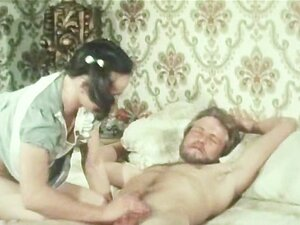 Bearded Man Likes to Lick The Butter in Creampie