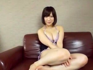 Fabulous Japanese chick Wakaba Onoue in Amazing Solo Female, Toys JAV clip