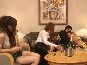 Amazing Japanese chick Haru Sakuraba, Marina Morino in Hottest Cunnilingus, Small Tits JAV movie