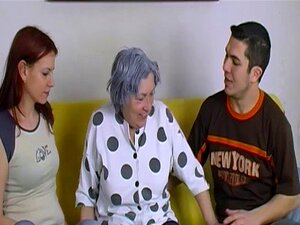 OmaHoteL Naked Couple and Granny Toys Threesome. Naked couple and horny grandma playing and masturbating with sex toys Find this video on our network Oldnanny