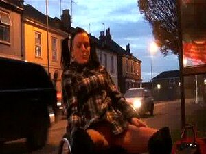 Leah Caprice Flashing Nude in Cheltenham from her Wheelchair