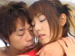 มู Takarano วัยรุ่นหีเปียกนิ้ว และครีม