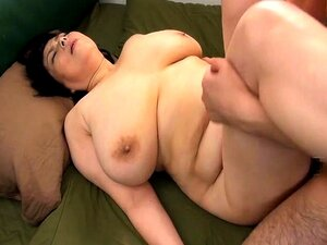 Curvy Asian wife enjoys a hot massage and a deep fucking