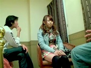 Nice Jap in stockings enjoys Japanese hardcore banging, Nice and quite fuckable Japanese slut in stockings enjoys some proper cunt drilling in this Asian sex video and it seems to please her a lot. In the end she gets a huge sticky creampie.