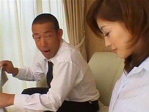Exotic Japanese whore Misaki in Amazing Lingerie, Close-up JAV clip