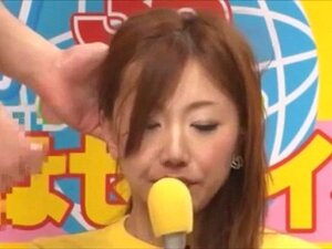 Newscaster ญี่ปุ่นเย็ดและ หลั่งน้ำ