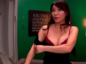 JAV milf Kaho Kasumi striptease for group of men Subtitled, JAV legend Kaho Kasumi in one of her final films stands in the middle of a group of ogrish masturbating men as performs a stark naked striptease and shows off her body in HD with English subtitles