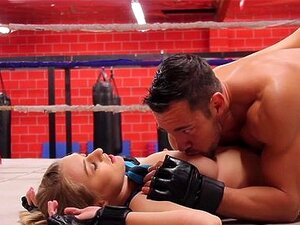 HD FantasyHD - สตาร์นาตาเลีย wrestles สำหรับเพศ